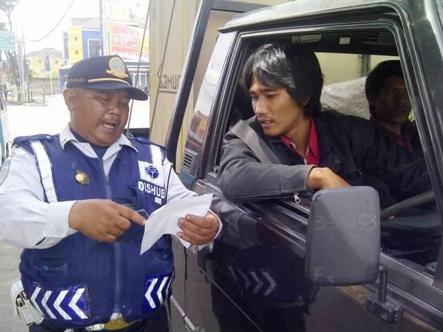 Razia- Dishub Kab Bandung