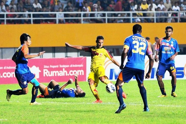 Sriwijaya FC vs Arema Cronus, SCM Cup 201