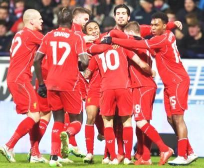 Bolton vs Liverpool