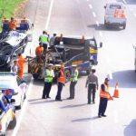 Kecelakaan Tol Baros - bandung ekspres