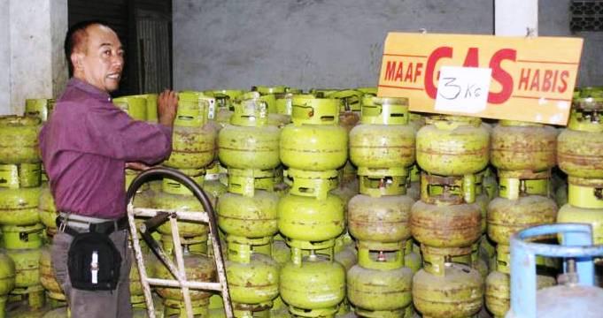 Kelangkaan gas melon - bandung ekspres