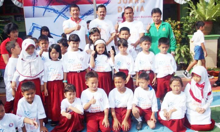 Peresmian Badminton School 2 - bandung ekspres
