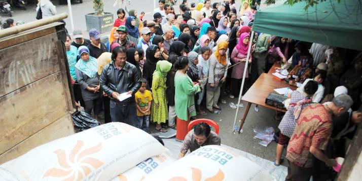 Beras Kota Bandung - bandung ekspres