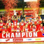 Juara Jabar Tim Putra SMAN 9 Bandung - Honda DBL West Java 2015 - bandung ekspres