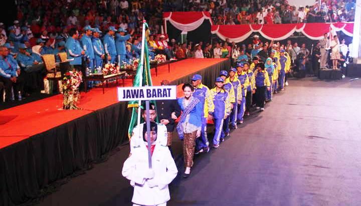 Kontingen Jabar- bandung ekspres