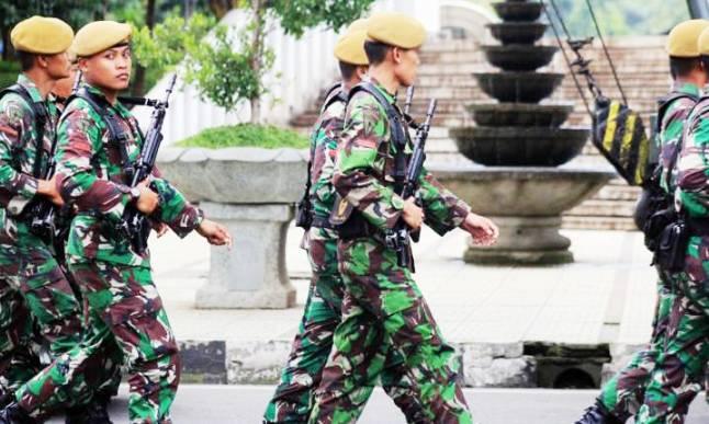Gladi Bersih TNI persiapan pengamanan KAA