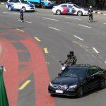 Iring-iringan kendaraan Perdana Menteri Thailand