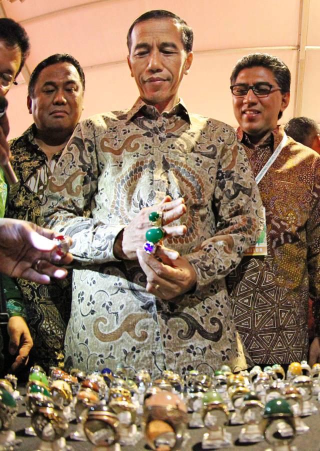 Jokowi berakik