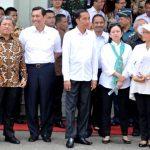 Jokowi tinjau kesiapan KAA