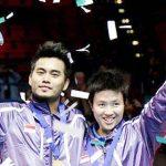 Pasangan ganda campuran Tantowi AhmadLiliana Natsir - Asia Championship 2015