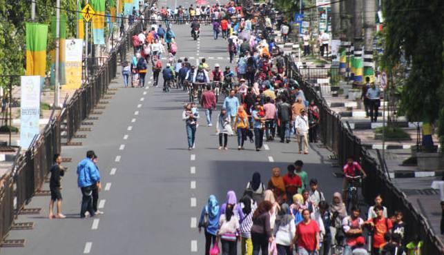Simpang Lima hingga Jalan Konferensi Asia Afrika (KAA) 2015