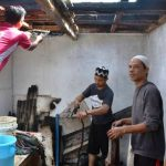 Yayasan Pesantren Nurul Iman tersambar petir