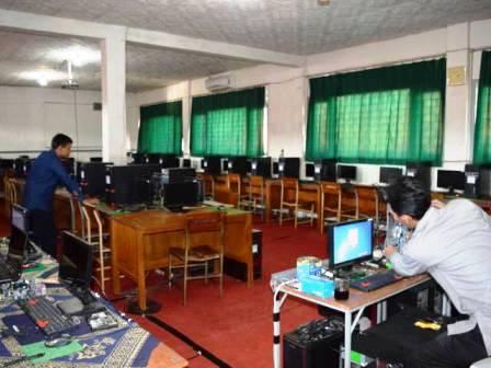 persiapan un onlien di SMK Pasundan 1 Banjaran -bandung-ekspres