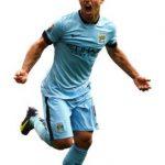 Sergio Aguero Striker Man. City