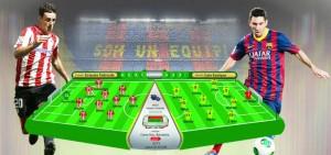 Athletic Bilbao v Barcelona - bandung ekspres copy