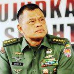 Kepala Staf Angkatan Darat (KASAD) Jenderal TNI Gatot Nurmantyo