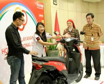 Kontes Layanan Honda Nasional 2015 - bandung ekspres