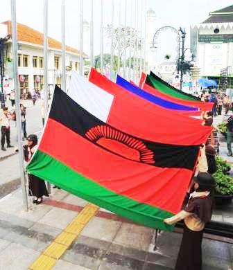 Pengibaran Bendera KAA