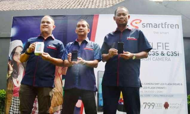 Regional Head West Java Smartfren Telecom-peluncuran Smartfren Andromax C3s dan C3si