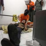 Rekonstruksi pembunuhan pekerja