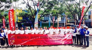 Safety Riding Competition - DAM - bandung ekspres