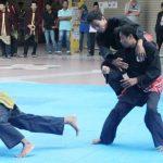 Tiga atlet bela diri tarung bebas andalan BOSS Bandung