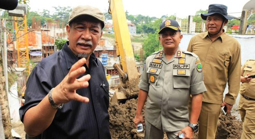 Wagub Sidak Bangunan tanpa IMB dan Rekomendasi dari Gubernur - bandung ekspres