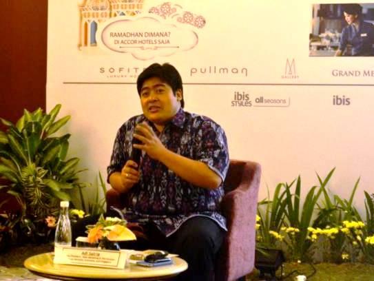 Adi Satria Vice Presiden, Sales, Marketing & Distribusi, Accor untuk Indonesia, Malaysia dan Singapore.