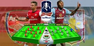 arsenal aston - FA Cup