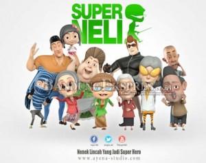 JP PHOTO KARYA KREATIF: Film Animasi Superneli menjadi salah satu film buatan anak muda Cimahi. Namun kurang dipopulerkan.