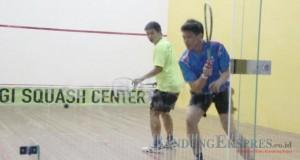 Atlet squash Kabupaten Bekasi