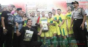 Final Kompetisi Futsal Hari JAdi Kota Cimahi - bandung ekspres