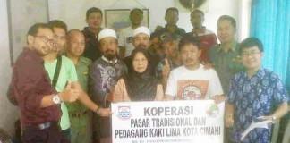 Koperasi dan PKL kota Cimahi - bandung ekspres