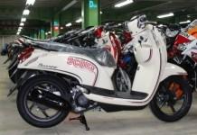 TERBAIK: Sepeda motor Honda Scoopy menjadi salah satu varian matik Honda yang digemari masyarakat Jawa Barat.