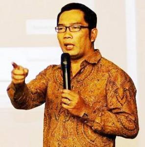 Ridwan Kamil Walikota Bandung