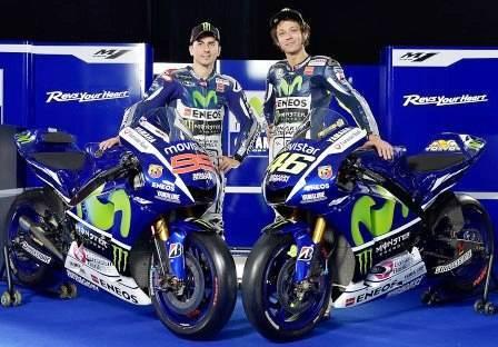 Lorenzo dan Rossi Rider MotoGP