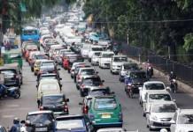Jalan Setiabudi Macet