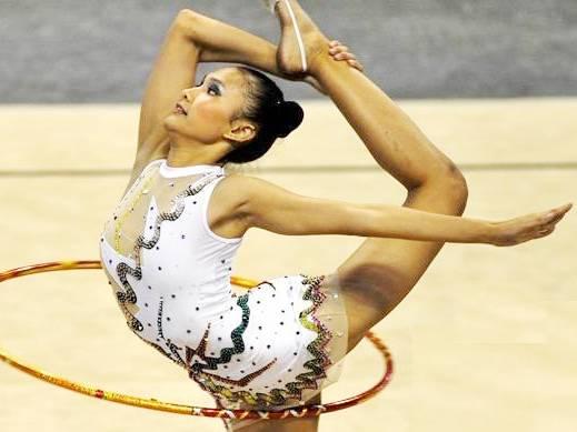 Atlet senam Jawa Barat