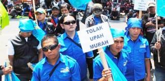 Demo Buruh Cimahi