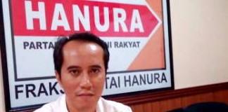 Gagan Hermawan, SE Ketua Fraksi Hanura DPRD Kota Bandung