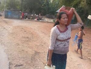 Nasib Warga yang Kekurangan Air Bersih di Butur