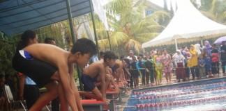 kejuaraan renang piala Wali Kota Cimahi