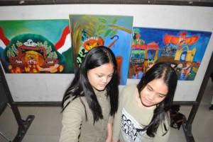 Pameran Lukisan Siswa SMPN 7