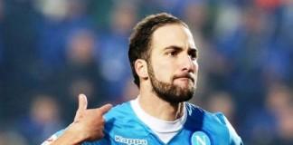 Gonzalo Higuain Striker Napoli