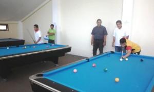 Memiliki Pusat Latihan Biliar