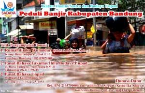 Ika Sadaya Peduli Banjir Bandung