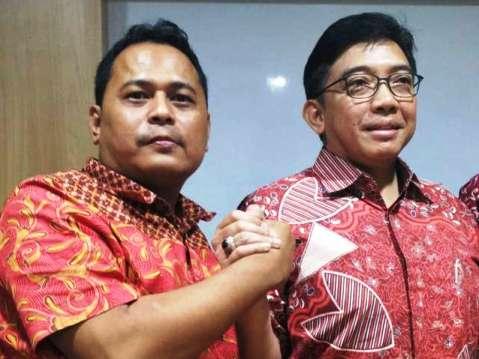 Ketua Ganti Jabar Pamriadi dan Kadin Jabar Agung Suryamal Soetrisno