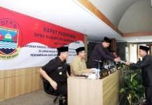 Rapat Paripurna DPRD KBB