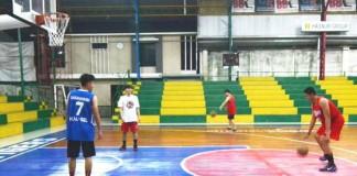 tim basket putra PON Kalsel