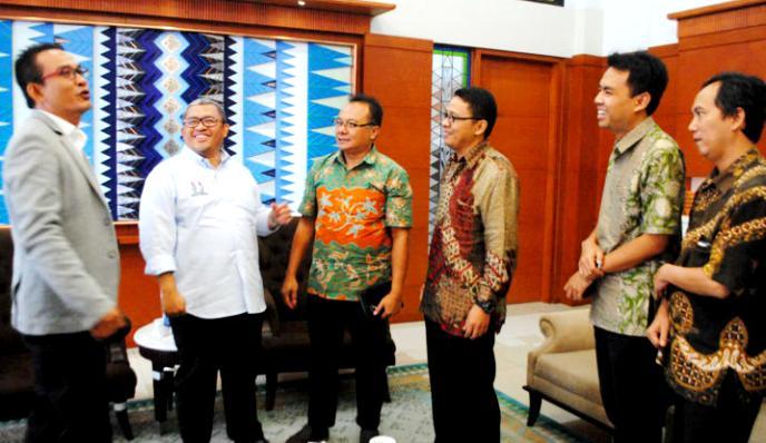 Audiensi Gubernur dengan JPIP